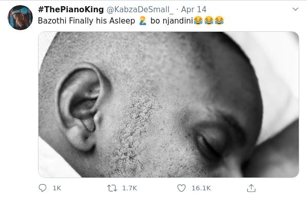 Tweeps Rejoice As Kabza De Small Reveals He Is Now Taking A Break
