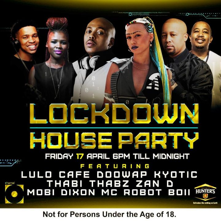 Lulo Cafe, Mobi Dixon, Zan D Wows Mzanzi On This Friday Channel O Lockdown House Party Mix