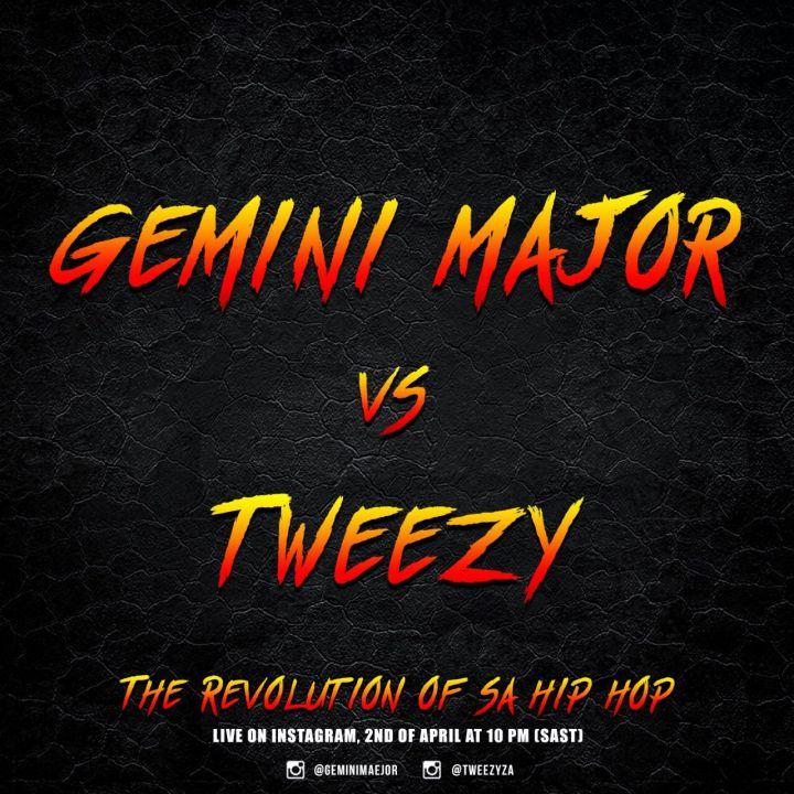 Major Battle Alert! Tweezy & Gemini Major To Faceoff To Prove Who's Best