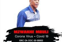 Mzwakhe Mbuli - Corona Virus Covid 19