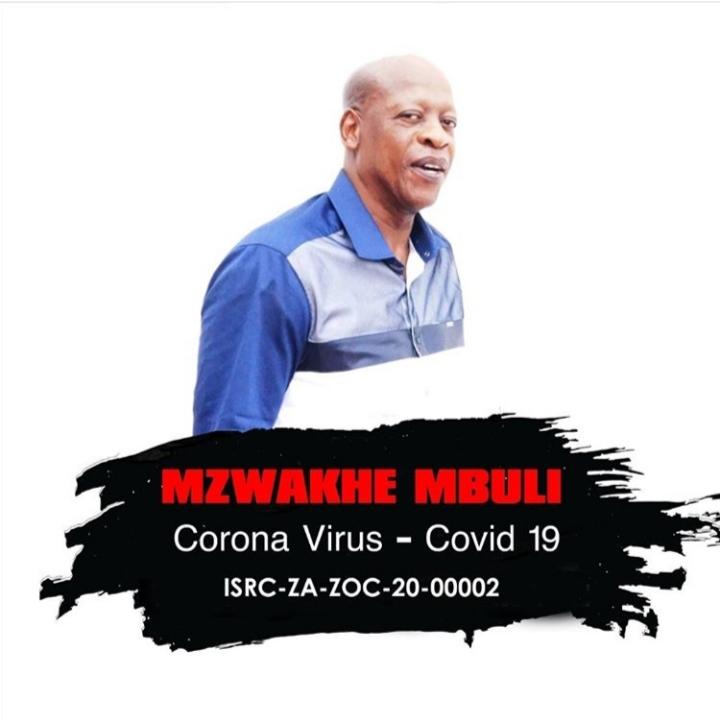 Mzwakhe Mbuli – Corona Virus Covid 19