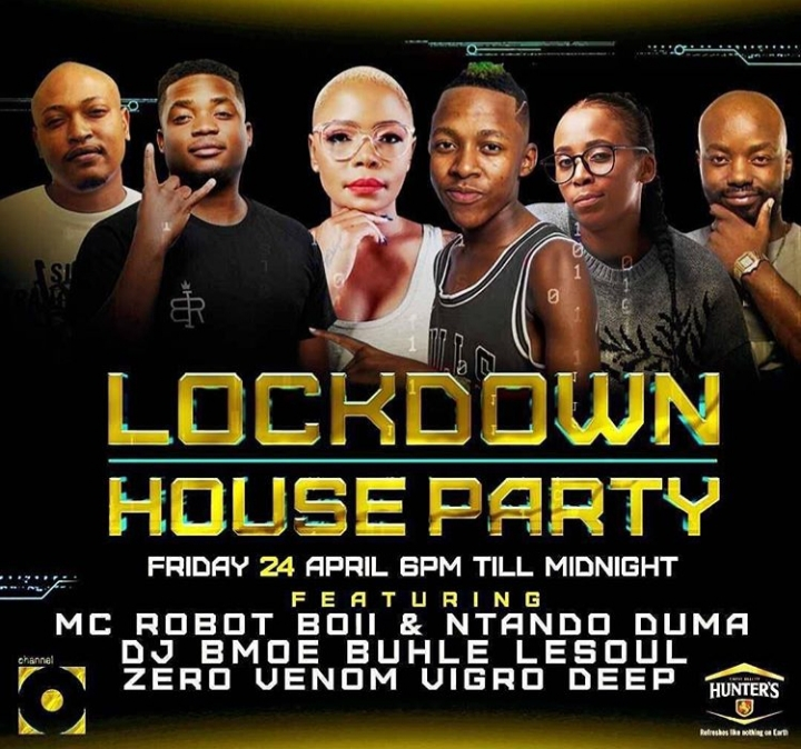 Vigro Deep, Zero, Venom, Lesoul, Buhle & BmoE Were DJs On Channel O Lockdown House Party Mix Friday 24Th April