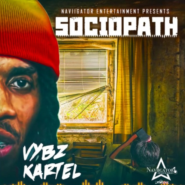 "Vybz Kartel Drops Latest Song ""Sociopath"" Image"