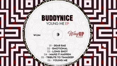 """Buddynice Surprises Us With """"Young Me"""" EP Image"""