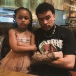 AKA and DJ Zinhle's Daughter, Kairo, Puts Up An Act As Lynn Forbes