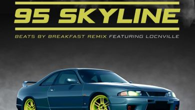 Sketchy Bongo - 95 Skyline (feat. Locnville) [beats by breakfast remix] - Single