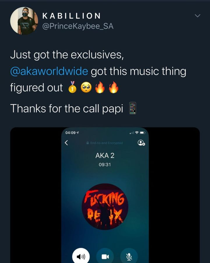 """""""AKA Got The Music Thing Figured Out"""", Prince Kaybee On The New AKA TV App Image"""
