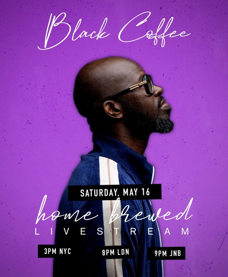 """Watch Black Coffee's Finale Home """"Brewed 007"""" Live Mix Session Image"""