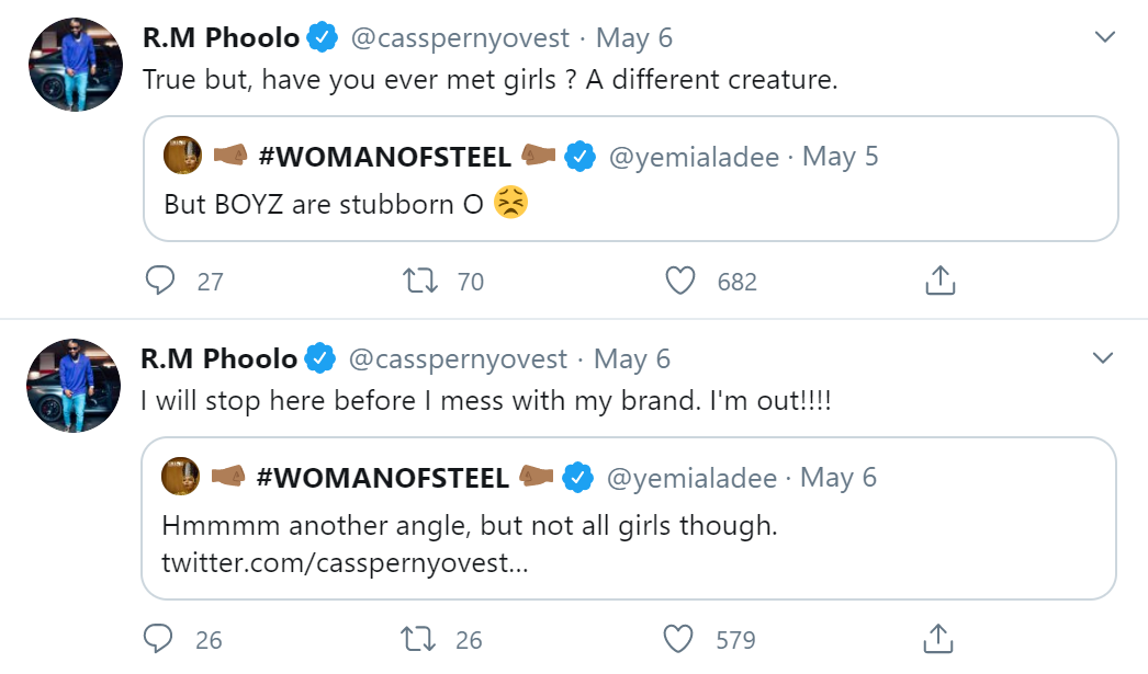 Cassper Nyovest Stops Debate With Yemi Alade To Protect His Brand Image