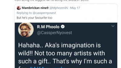 Photo of Cassper Nyovest Narrates How He Went From AKA's Fan To Biggest Rap Artist