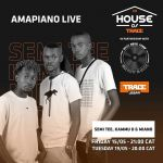 Catch Semi Tee, Kammu Dee & Maino On This Weekend Lockdown Amapiano Live Session By Trace Africa