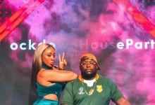 Photo of DJ Capital Brings Out Nadia Nakai & Blaklez At The Recent Lockdown House Party