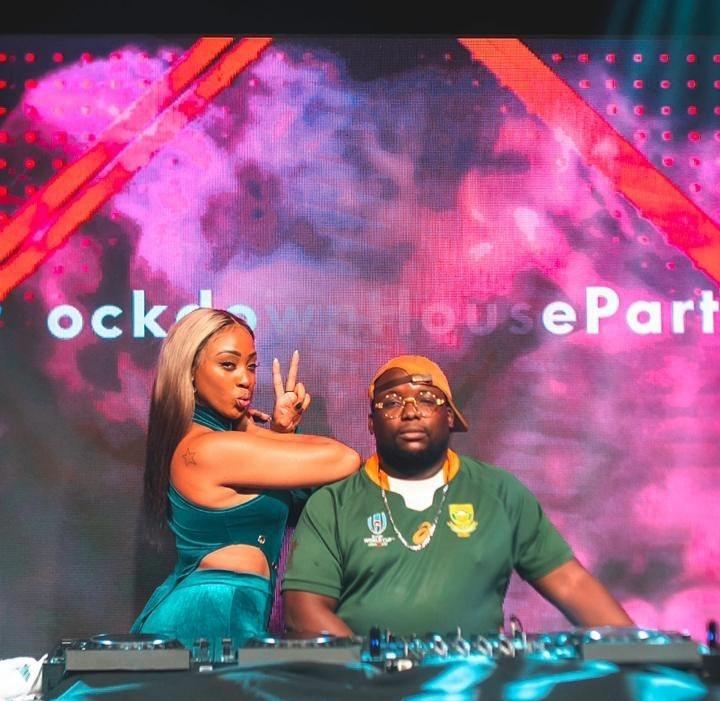 DJ Capital Brings Out Nadia Nakai & Blaklez At The Recent Lockdown House Party