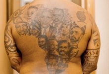 Photo of Fans Suggest DJ Fresh Get Robert Mugabe, Julius Malema And Jacob Zuma Added To His African Leaders Tattoo