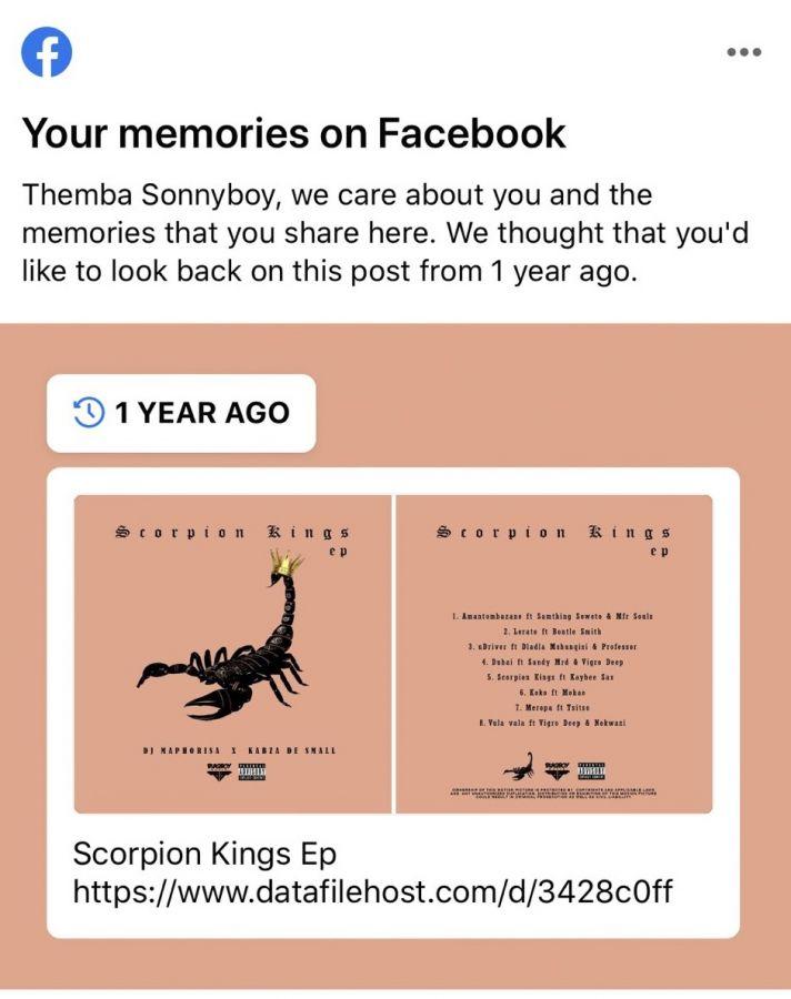 "It's A Year Already, DJ Maphorisa Celebrates ""Scorpion Kings"" Image"