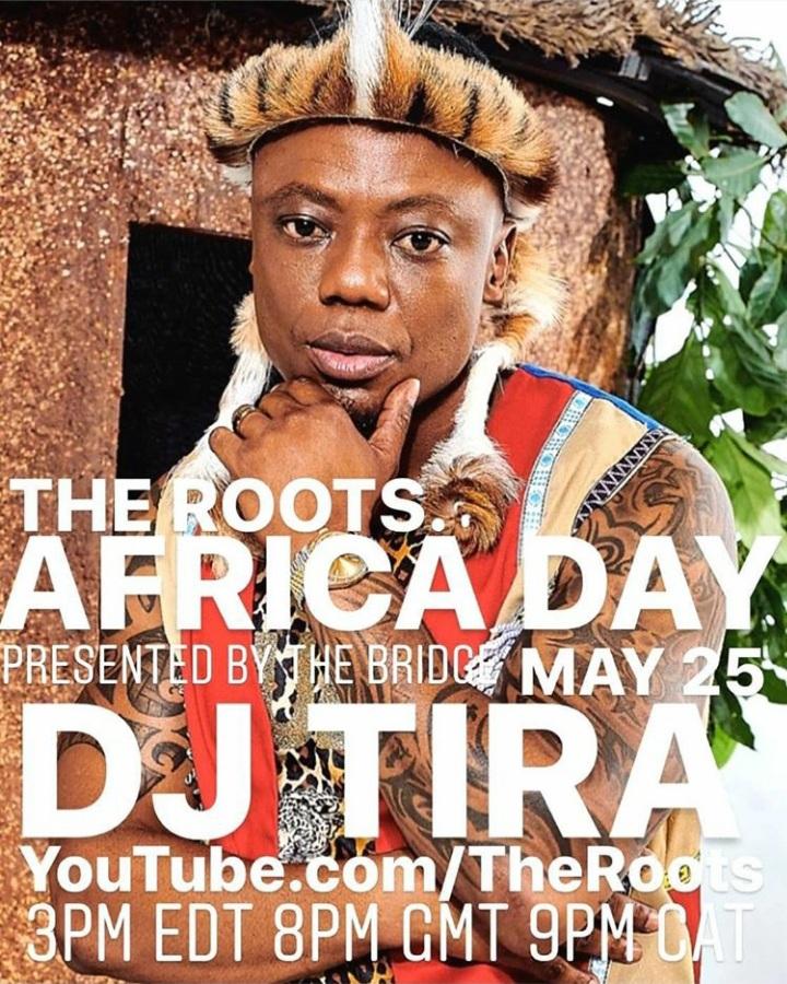 "DJ Zinhle, Ami Faku, Sun-EL Musician & DJ Tira To Perform At ""The Roots"" Africa Day Virtual Celebration"