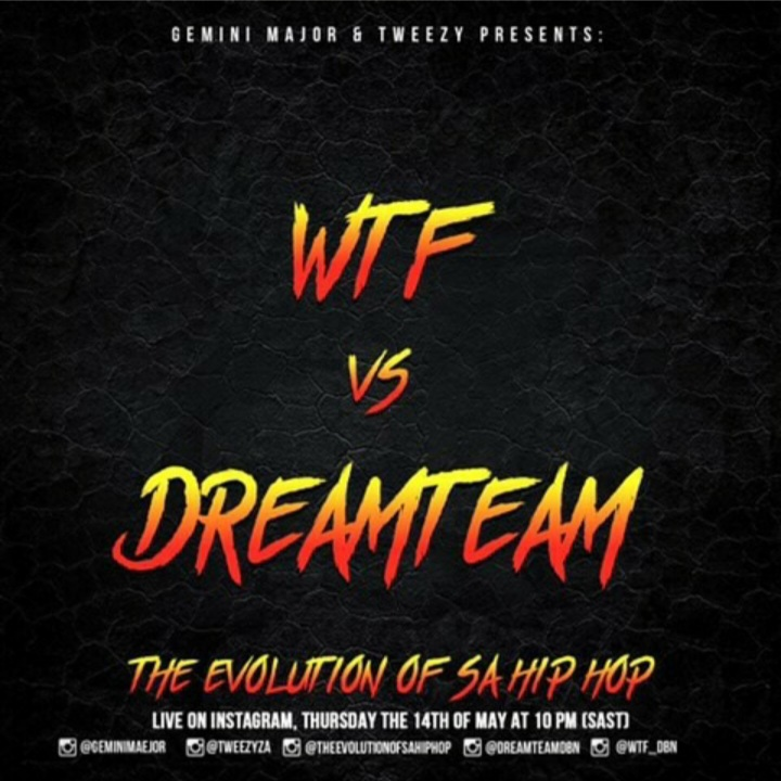 """Durban's WTF And Dreamteam To Battle On Next """"Evolution Of SA Hip Hop"""" Episode"""