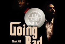 Meek Mill And Drake's Single 'Going Bad' Goes Quintuple Platinum