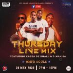 """MFR Souls To Hold """"Thursday Live Mix"""" Concert Alongside Kabza De Small And T-Man SA"""