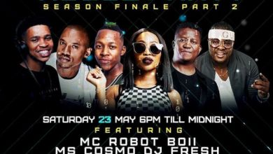 Photo of Ms Cosmo, DJ Fresh, DJ Sumbody, Da Capo, Vigro Deep, Kyotic Are Line-up For Next Saturday 23rd Channel O Lockdown House Party Mix