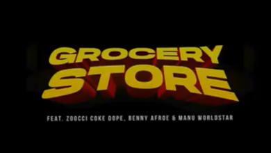 """DJ D Double D Goes To The """"Grocery Store"""" With Zoocci Coke Dope, Manu WorldStar And Benny Afroe"""