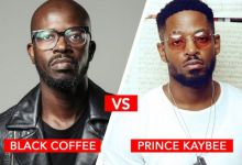 "Photo of Prince Kaybee Unhappy With Black Coffee Calling Him ""House Ni**er"""