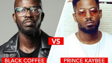 """Photo of Prince Kaybee Unhappy With Black Coffee Calling Him """"House Ni**er"""""""