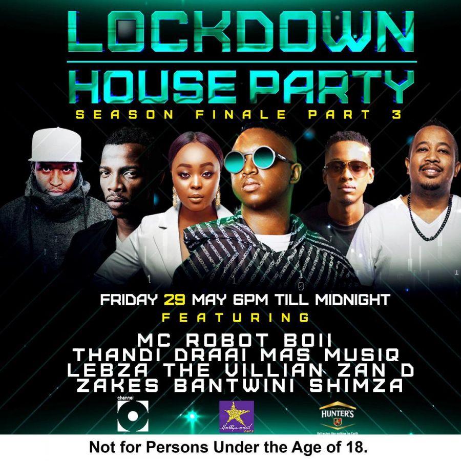 Thandi Draai, Mas Musiq, Lebza The Villian, Zan D, Zakes Bantwini & Shimza Announced As Lockdown House Party Mix Lineup