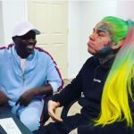 "6ix9ine & Akon Link Up For ""Locked Up Part 2"", Prompting Reactions From Styles P & Fans"