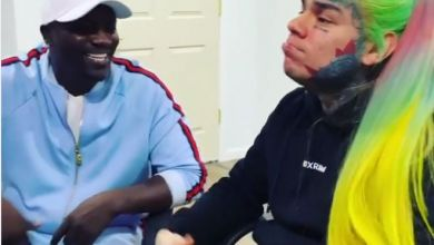 "Photo of 6ix9ine & Akon Link Up For ""Locked Up Part 2"", Prompting Reactions From Styles P & Fans"