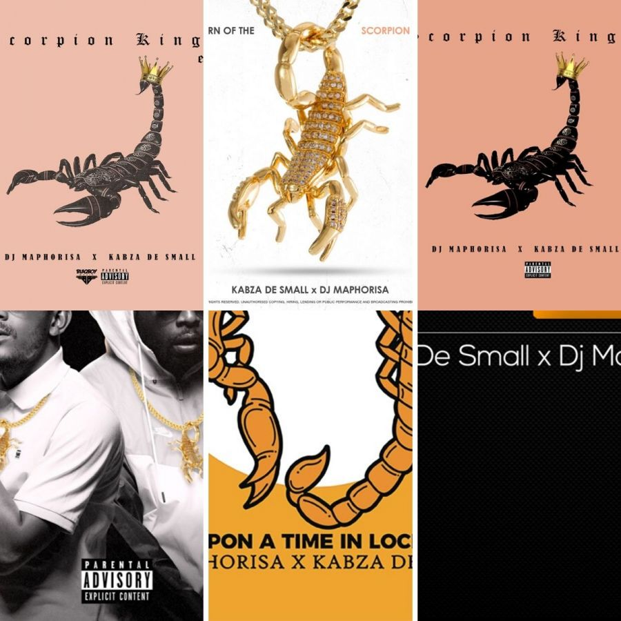 Scorpion Kings (Kabza De Small & DJ Maphorisa) With EP & Album Projects Contributed To Amapiano Scene