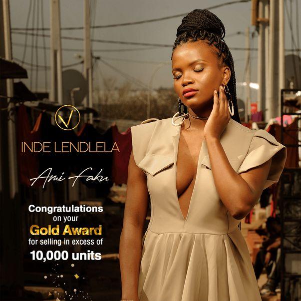 "Ami Faku's ""Inde Lendlela"" Song Certified Gold Image"