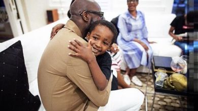 Photo of Black Coffee and Enhle Celebrate Son Asante's 5th Birthday In Different Ways