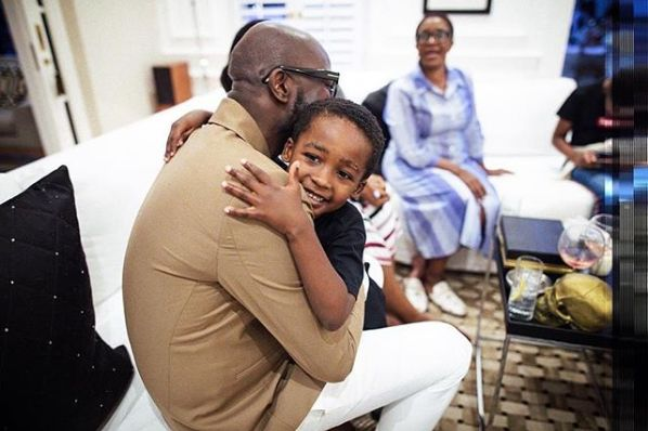 Black Coffee and Enhle Celebrate Son Asante's 5th Birthday In Different Ways