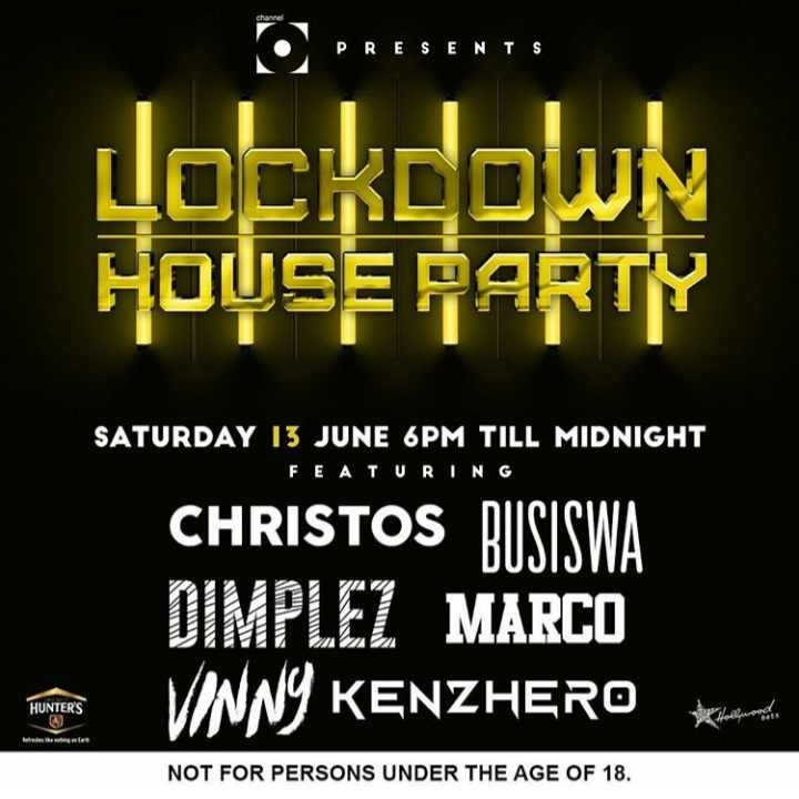 Busiswa, Dimplez, Marco, Christos, Vinny & Kenzhero Are Lined Up For This Saturday June 13th, Lockdown House Party Mix
