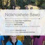 "Cape Town Youth Choir Praises With ""Ndikhokhele Bawo"""