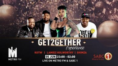 Photo of Checkout Shimza, KOTW, Lamiez Holworthy's Metro FM & SABC 1 #Get2GetherExperience Live Performance & Mix