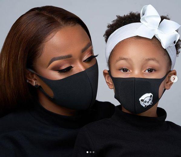 DJ Zinhle Celebrates Daughter Kairo Forbes On Her Birthday