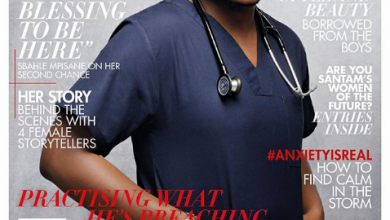 Dr Tumi Covers June Issue Of True Love Magazine Image