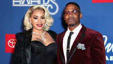 Photo of Faith Evans and Stevie J in Naked Spat?