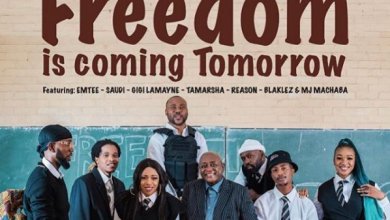 Photo of Dr Mbongeni Ngema ft Emtee, Saudi, Gigi Lamayne, Tamarsha, Reason, Blaklez & DJ Machaba – Freedom Is Coming Tomorrow (Remix)