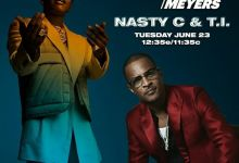 """Nasty C To Appear On """"Late Night With Seth Meyers"""" Alongside TI"""
