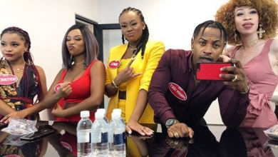 """Priddy Ugly, Bontle Modiselle & Sisters Glitter on """"Family Feud"""" Image"""