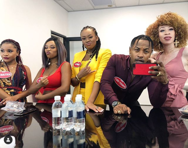 "Priddy Ugly, Bontle Modiselle & Sisters Glitter on ""Family Feud"" Image"