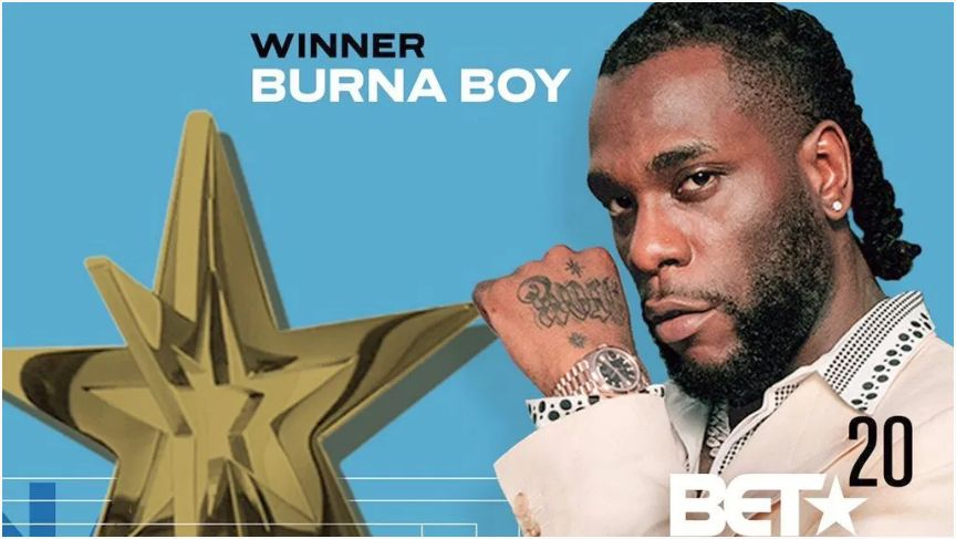 Sha Sha & Burna Boy Win BET Awards – See Full List of Winners Image