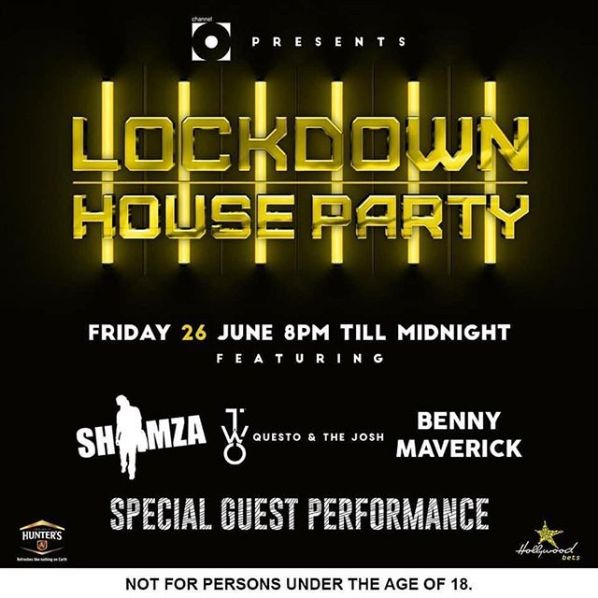 Shimza, Benny Maverick, Questo & The Josh, Prince Kaybee, DJ Vetkuk & Mahoota And More Are Lined Up For This Weekend Lockdown House Party