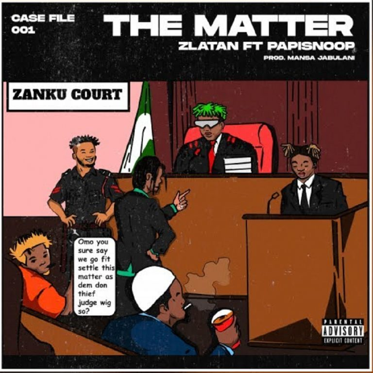 """Zlatan Settles  """"The Matter"""" In New Song Featuring Papisnoop"""
