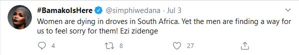 "Simphiwe Dana Speaks on Gender-Based Violence, Describe South African Men As ""Weak"" Image"