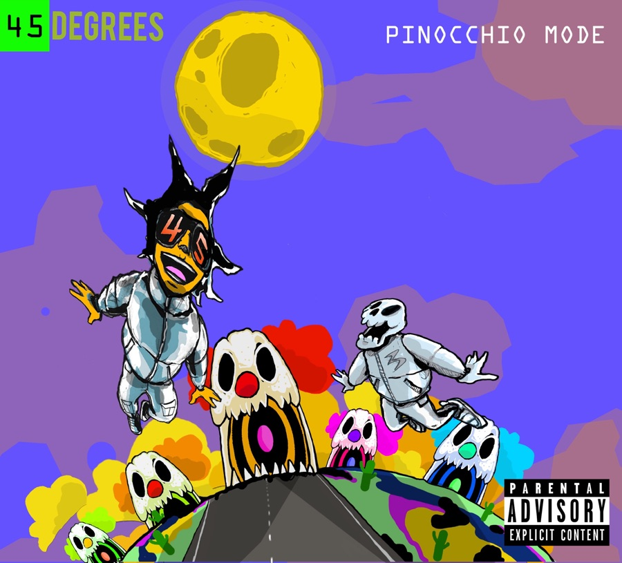 45 Degrees – Pinocchio Mode – EP Image