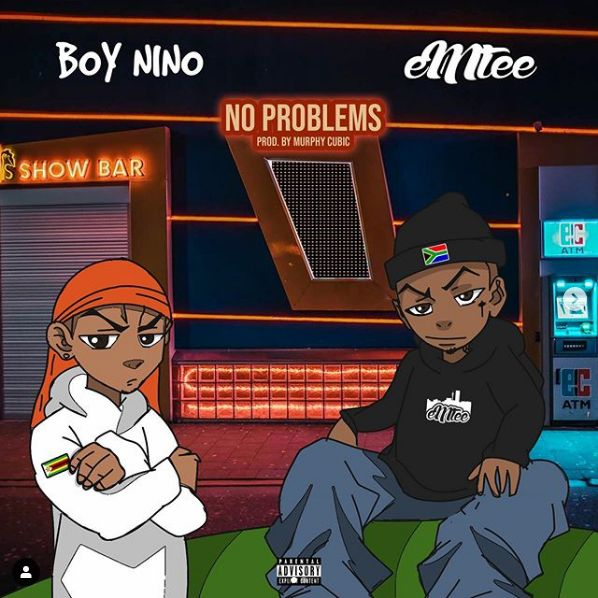 """Boy Nino Insists there are """"No Problems"""" In New Song Featuring Emtee   Listen"""